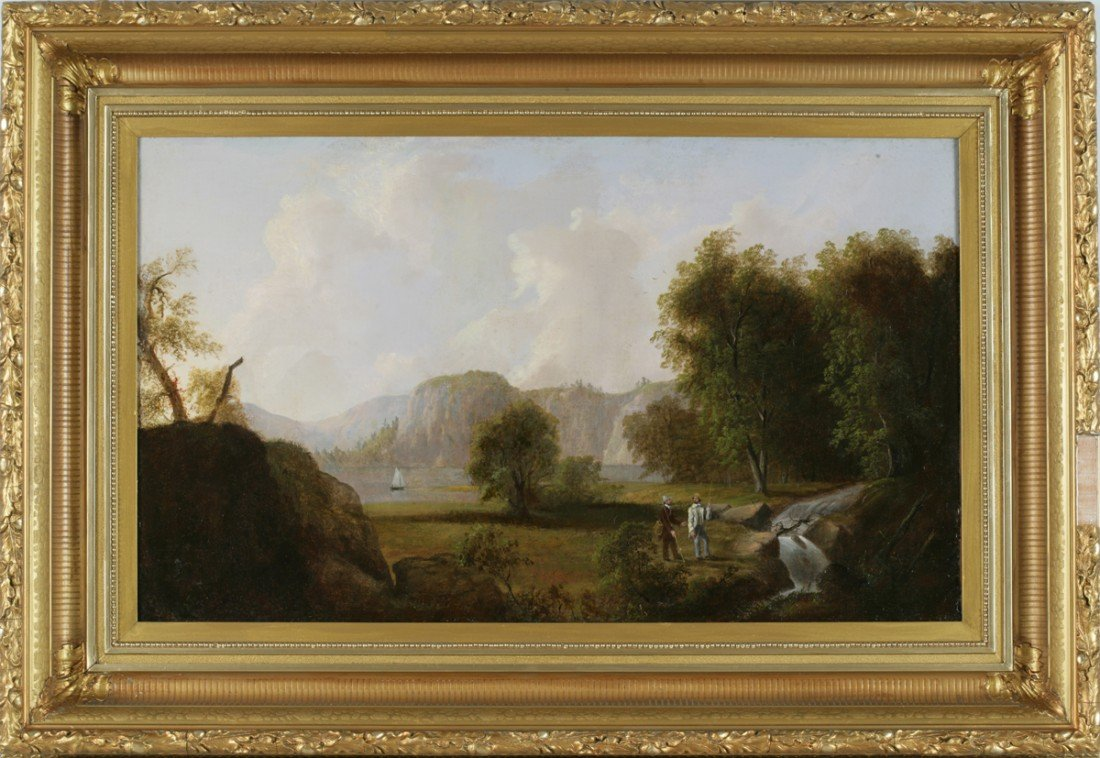 14: Attributed to Thomas Doughty (American, 1793-1856)
