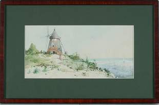 William Lewis Sonntag Jr. (American, 1869-1898) (2)