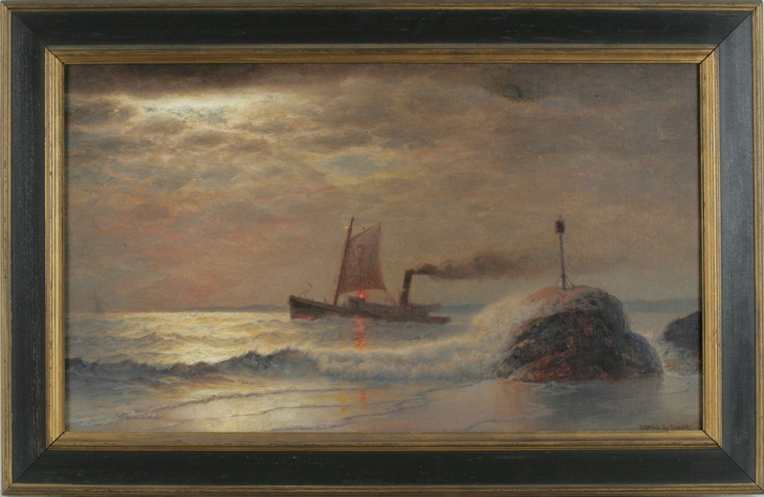 21: James Gale Tyler (American, 1855-1931), Sailing Clo