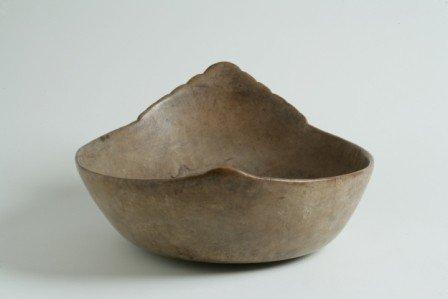 308: Elm Burl Effigy Bowl
