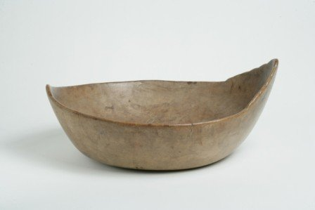 308: Elm Burl Effigy Bowl - 3