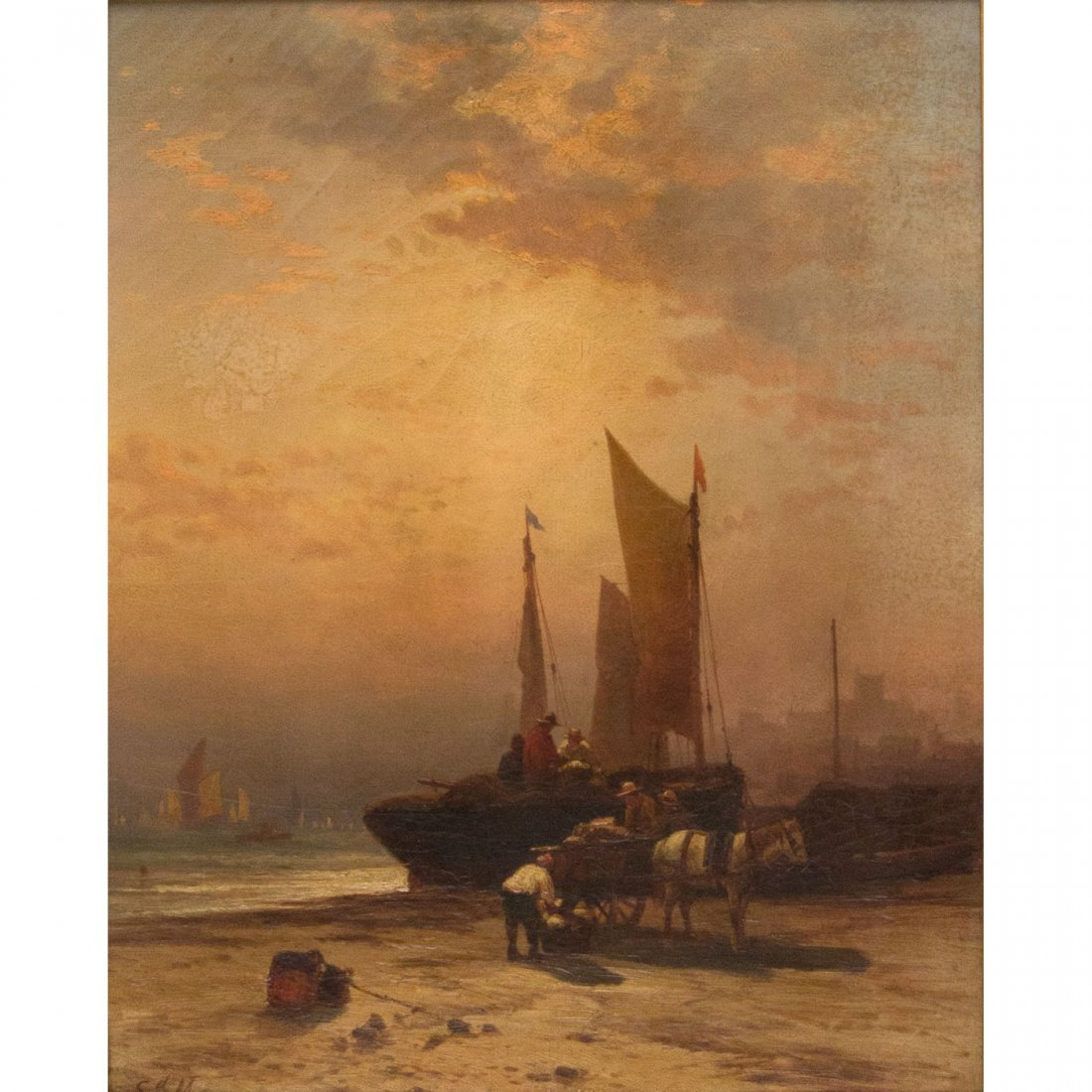 8: Edward Moran (American, 1829-1901)
