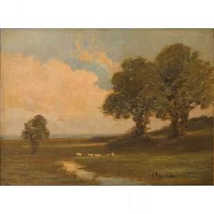 Edward Mitchell Bannister (American, 1828-1901)