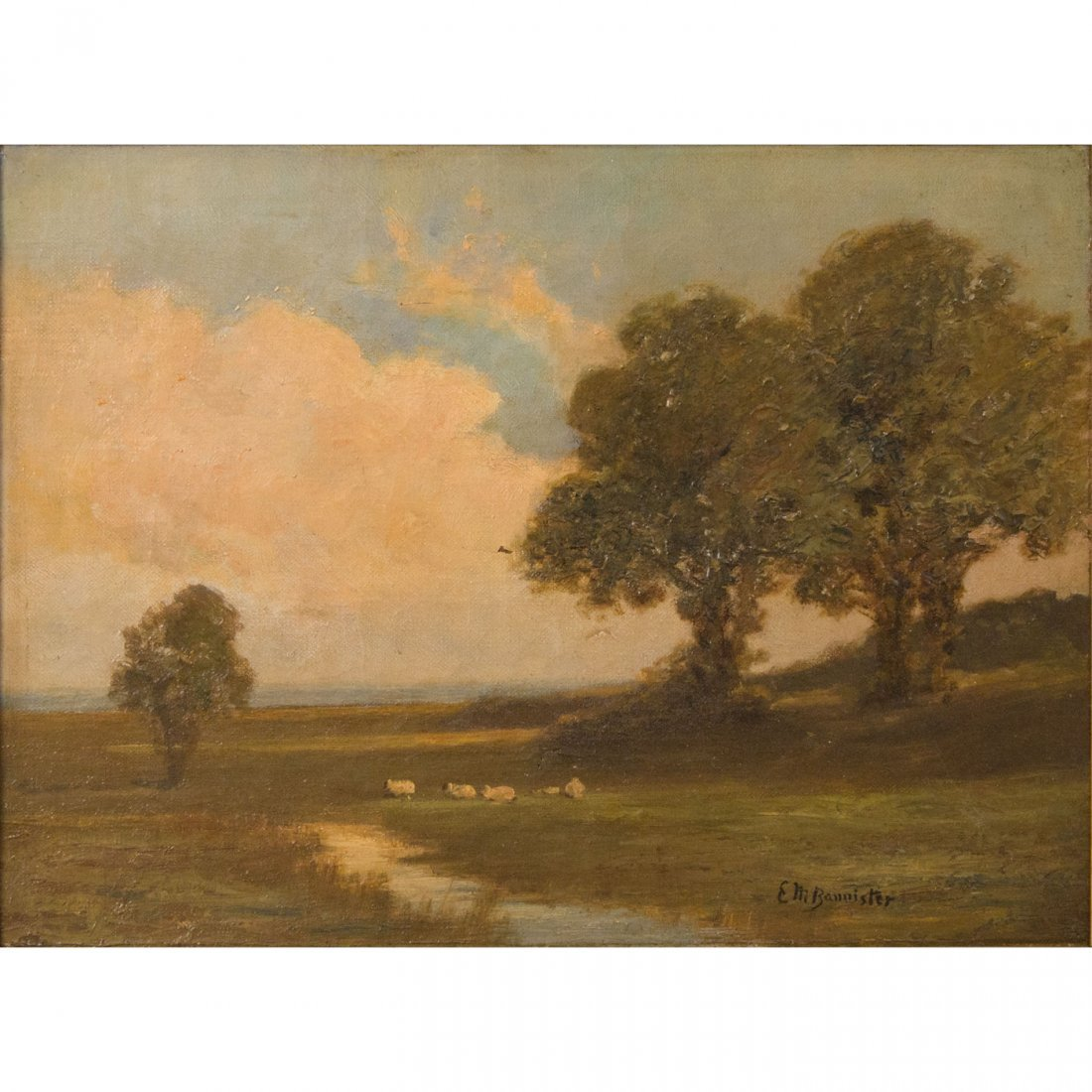 19: Edward Mitchell Bannister (American, 1828-1901)