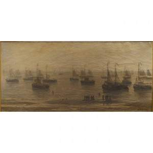 39: Hendrik Willem Mesdag (Dutch, 1831-1915)