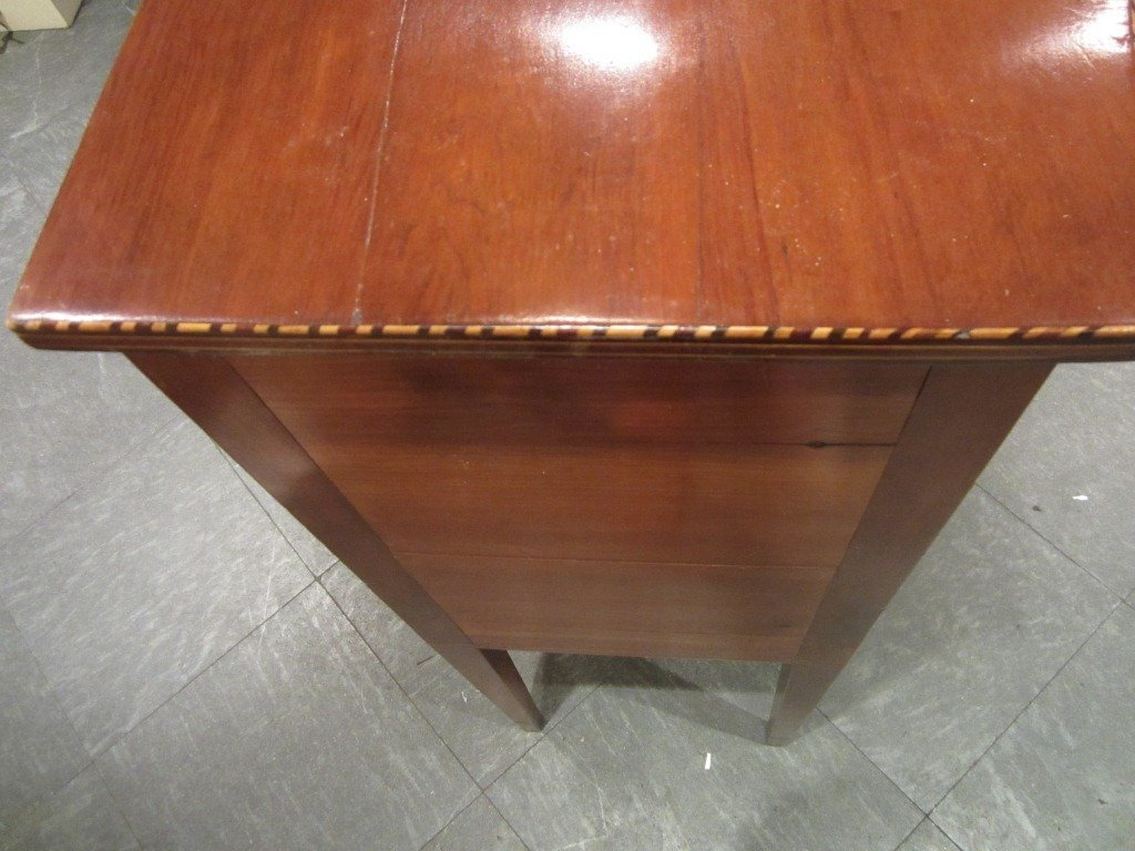 97: Federal Serpentine-Front Inlaid Sideboard - 5