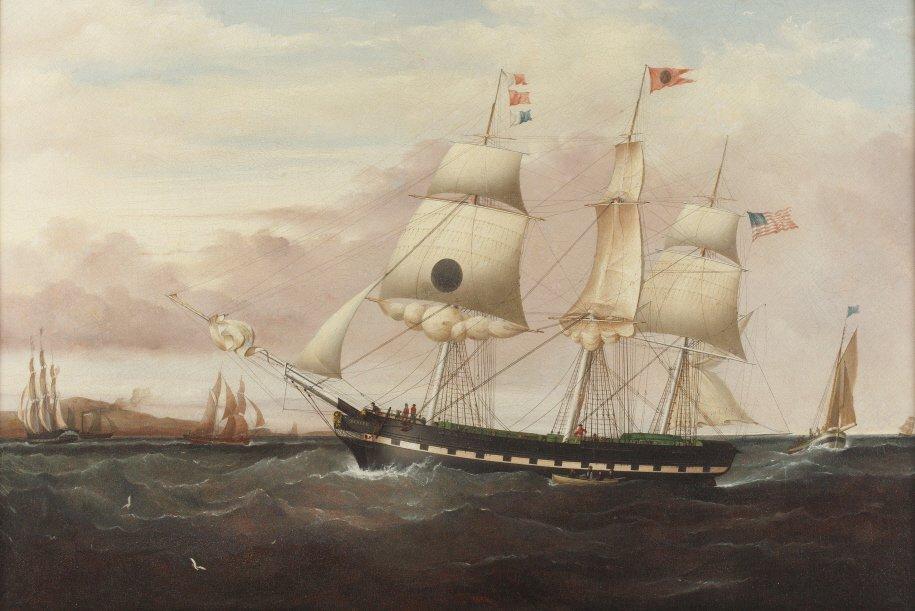265: Attributed to Samuel Walters (British, 1811-1872)