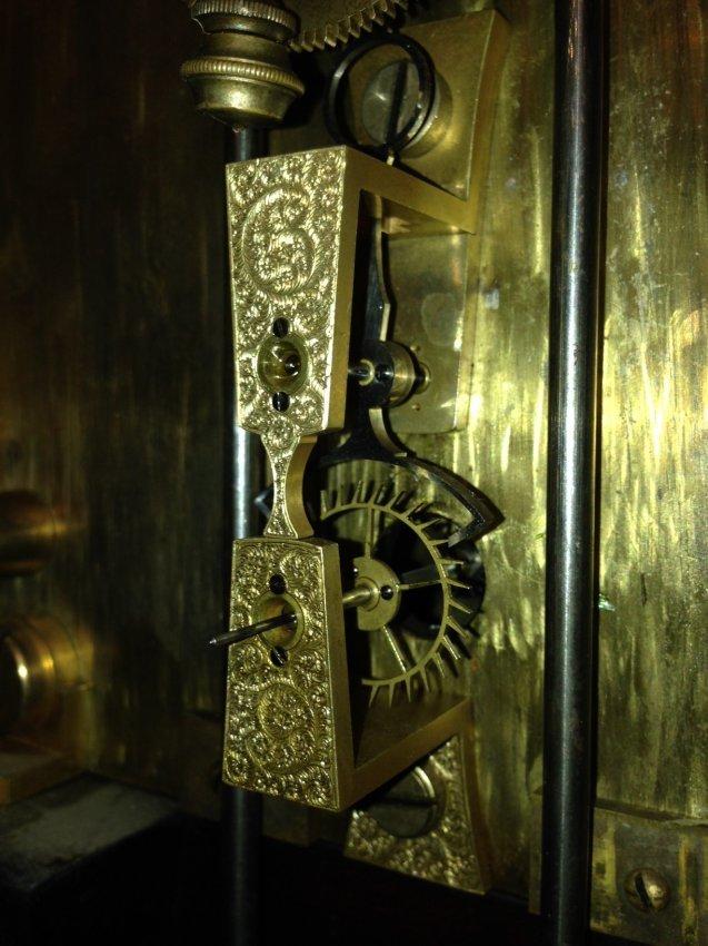 E Howard Amp Co No 46 Astronomical Regulator Clock Lot 15