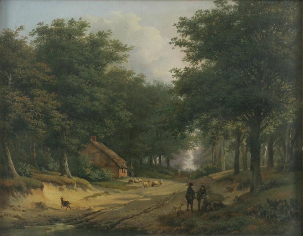 Jan Baptist DeJonghe (Belgian, 1785-1884)
