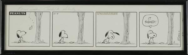 """Charles M. Schulz, """"Peanuts"""""""