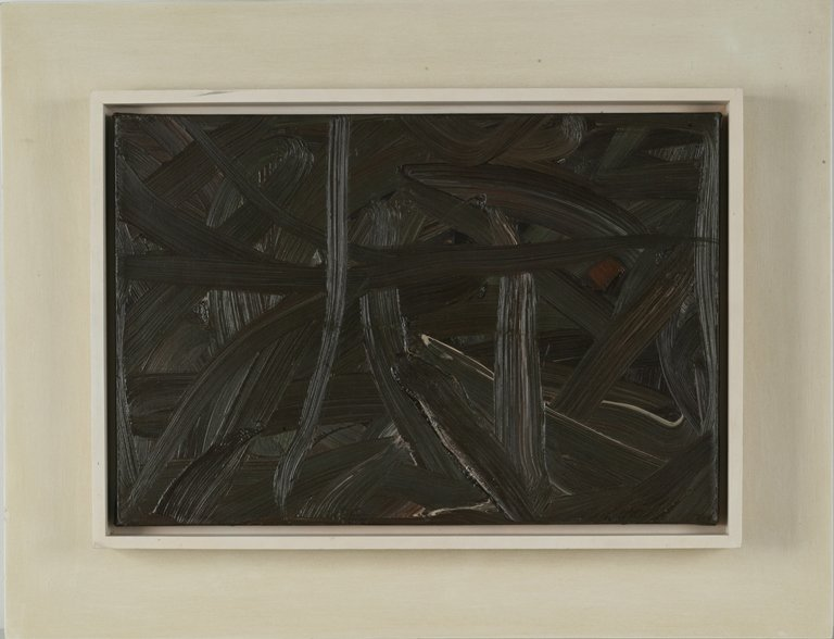 Gerhard Richter, Vermalung (Braun) or Inpainting
