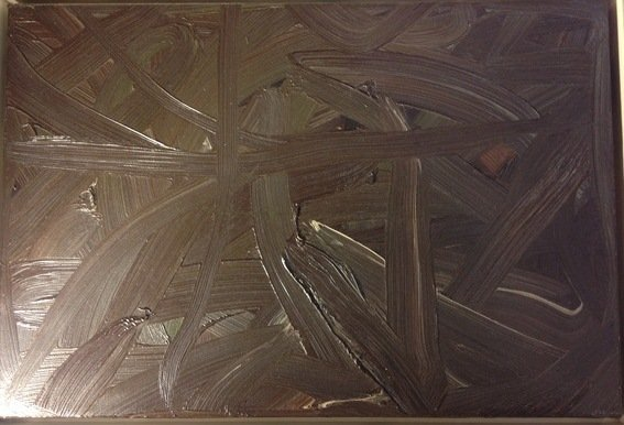 Gerhard Richter, Vermalung (Braun) or Inpainting - 6