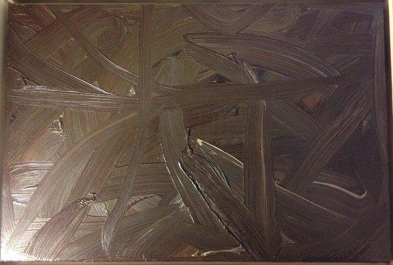 Gerhard Richter, Vermalung (Braun) or Inpainting - 7