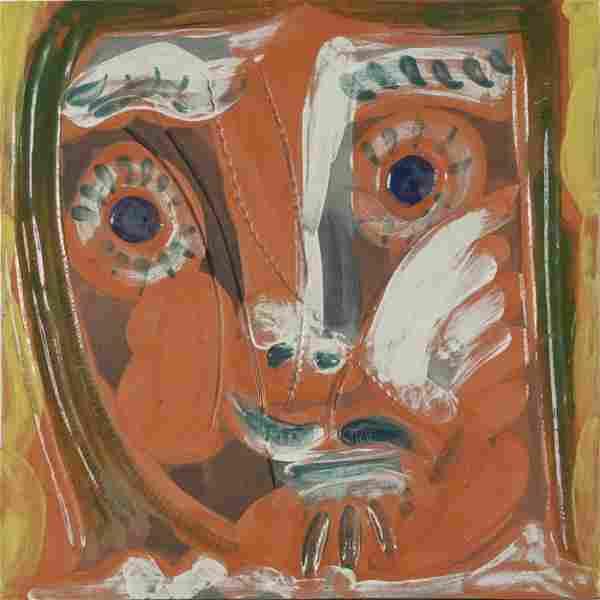 Pablo Picasso, Visage de Femme Pomone