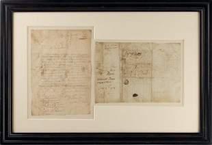 John Penn Writes to Younger Brother Thomas