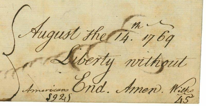 """Liberty without End. Amen."" - 4"
