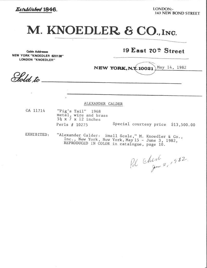 Alexander Calder (American, 1898-1976) - 4