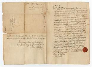 William Penn Grants 1,500 Acres