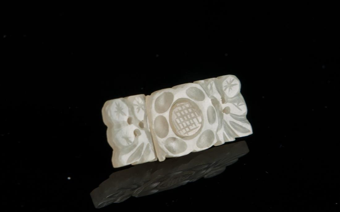 Late Qing/Republic-A Group Of Five White Jade - 6
