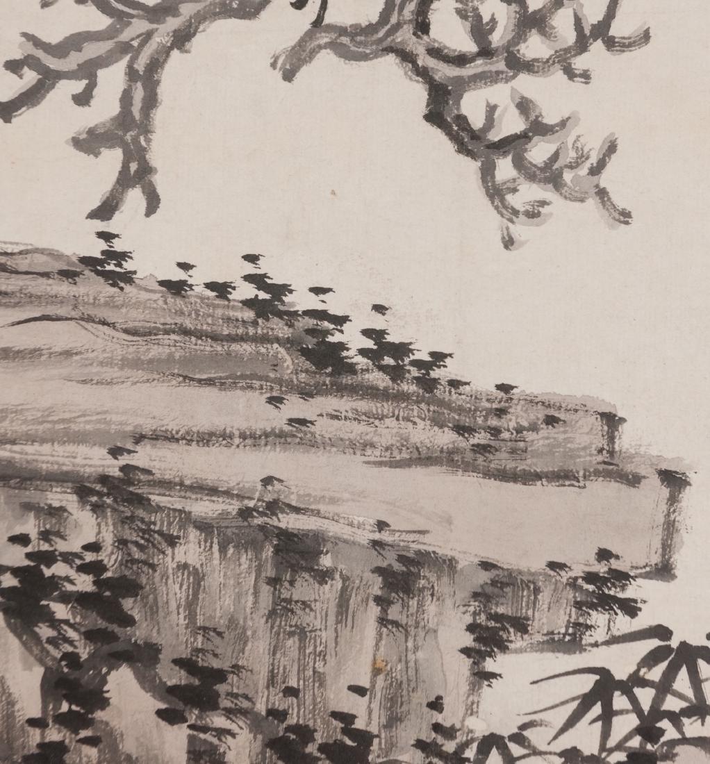 Shen Zhou (1427-1509) - Ink On Paper, Framed. Signed - 5