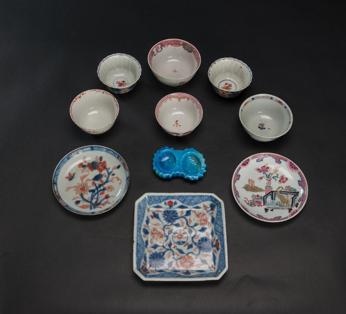 Qing- A Group Of 10 Porcelains Dish - 2