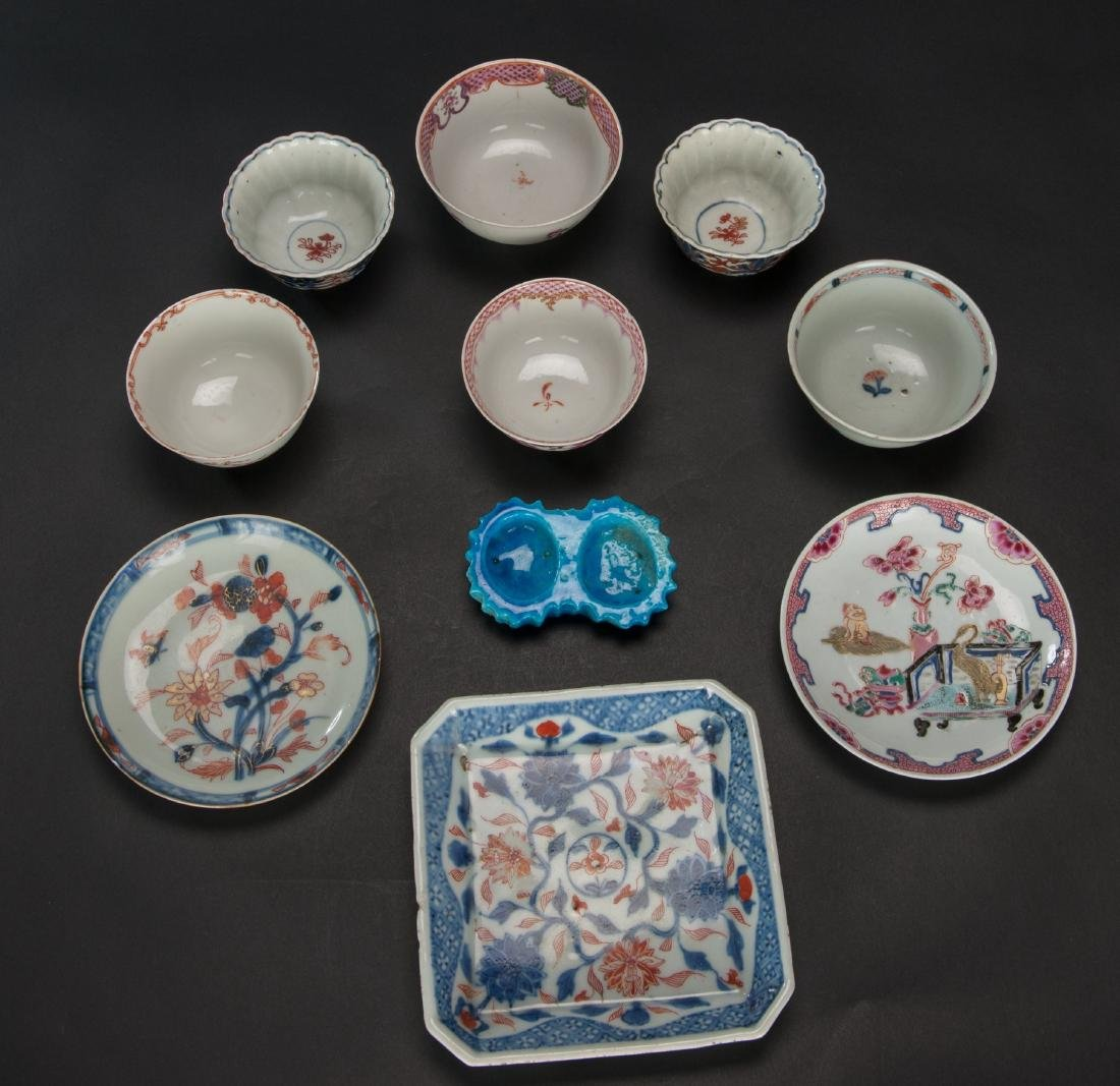 Qing- A Group Of 10 Porcelains Dish - 4