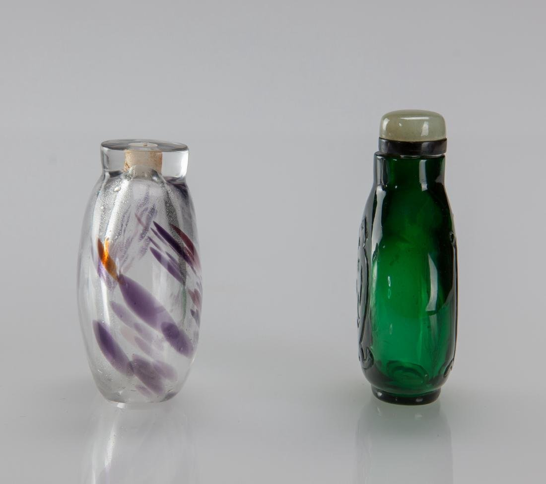 Early 20th Century's - A Two Glass Snuff Bottle - 5