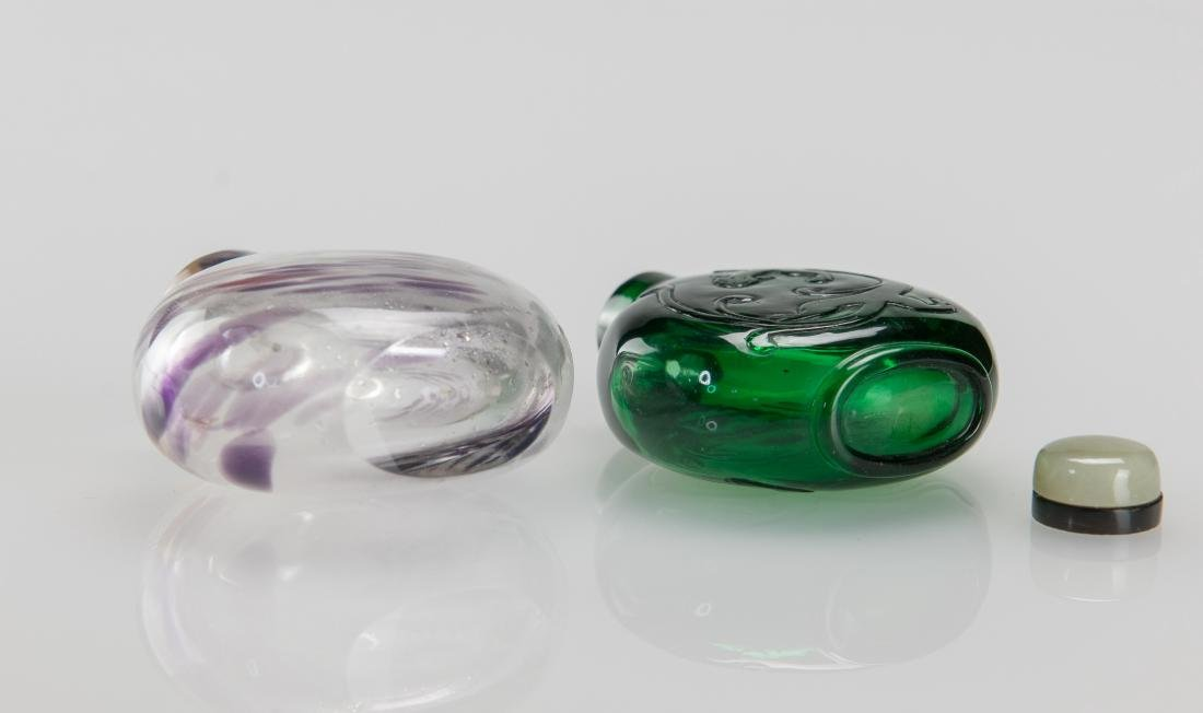 Early 20th Century's - A Two Glass Snuff Bottle - 7