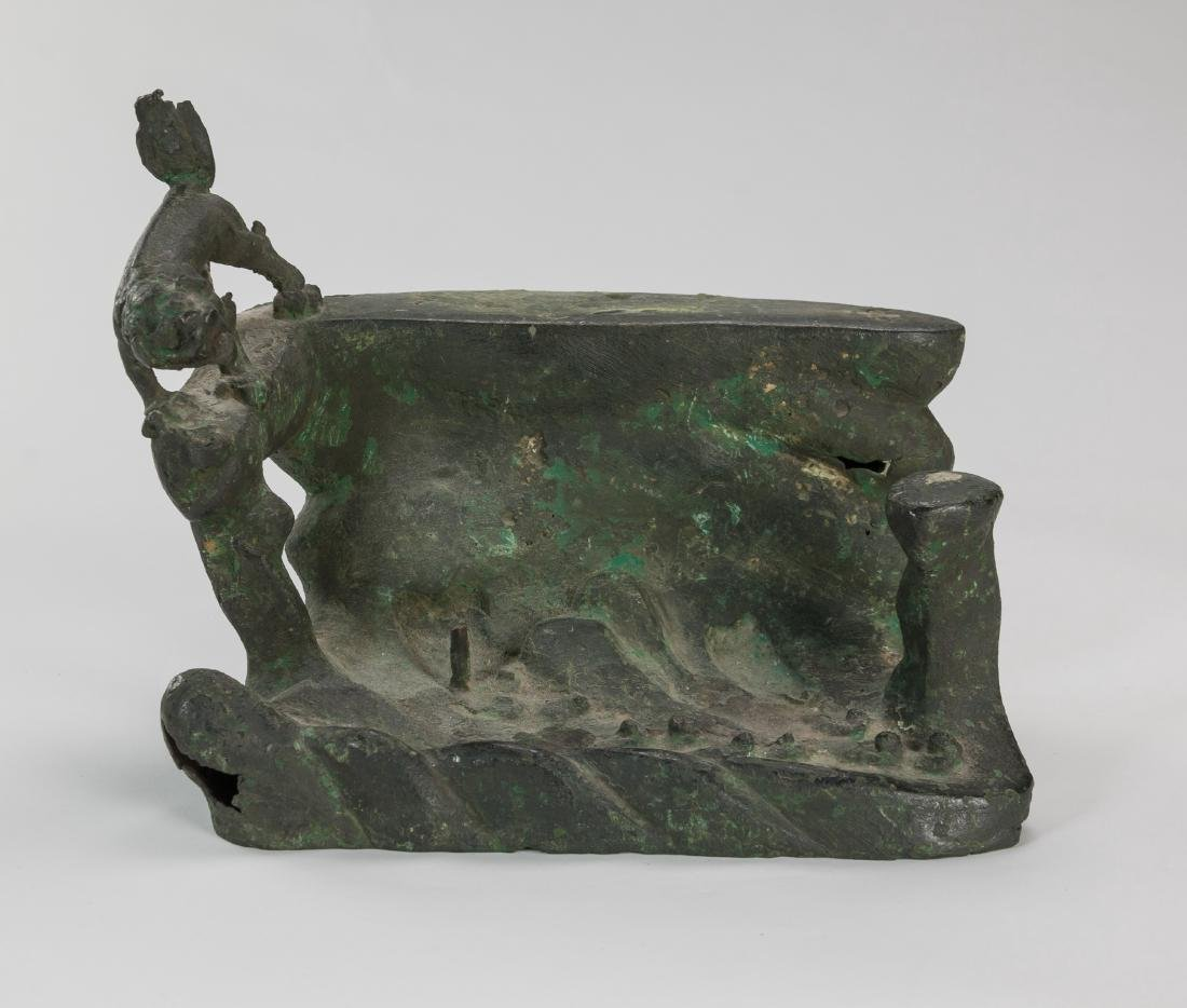 Ming/20th Century-A Group Of Five Bronze Item - 2