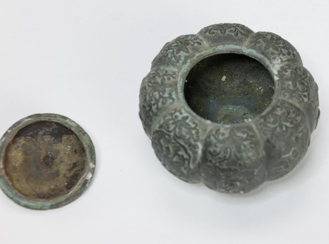 Ming/20th Century-A Group Of Five Bronze Item - 9