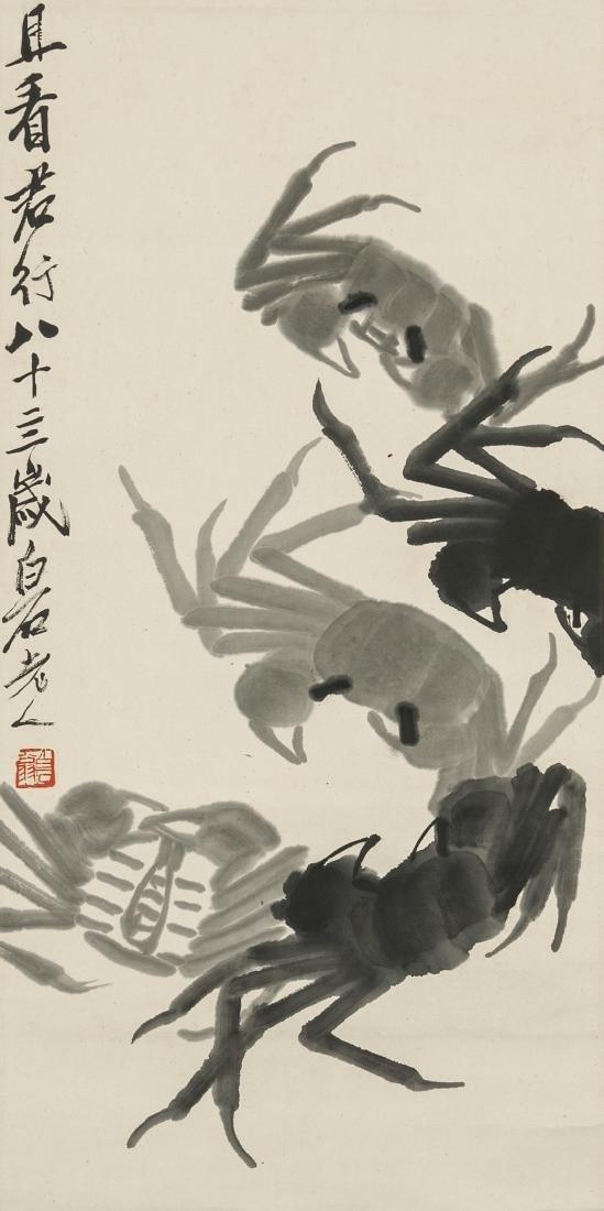 Qi Baishi(1864-1957) Ink On Paper