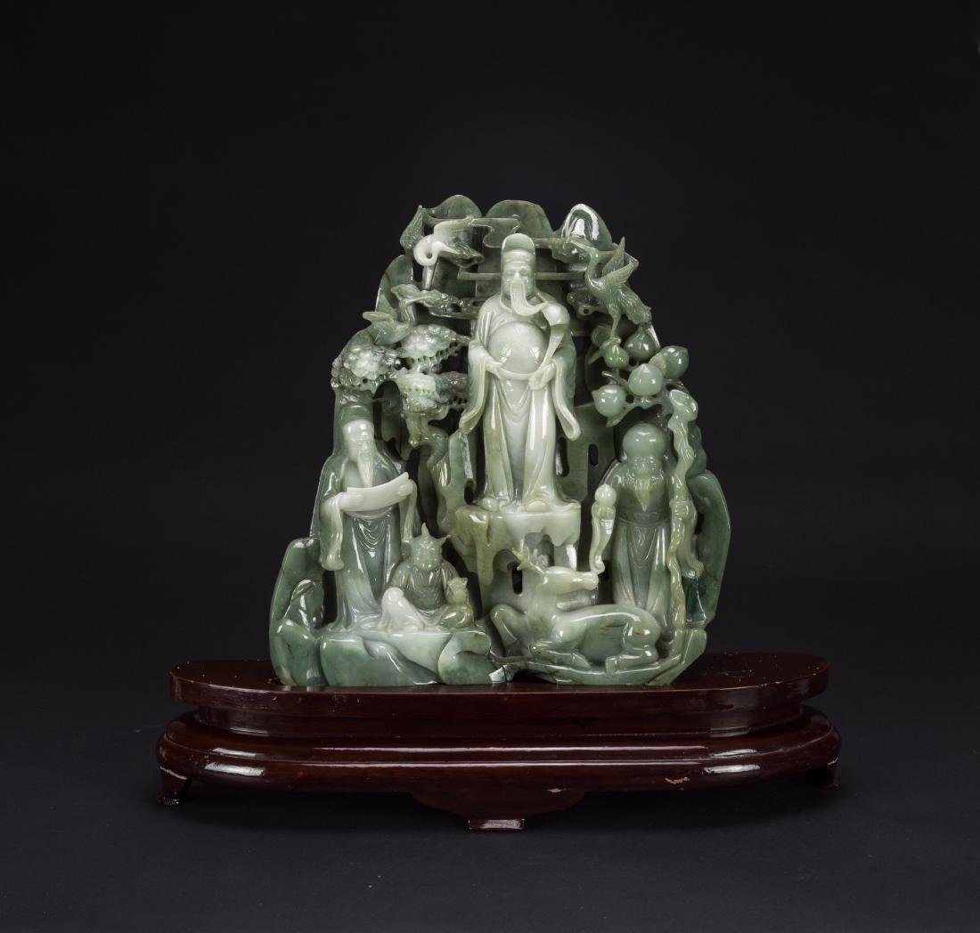 Early 20th Century- A Large Jadeite