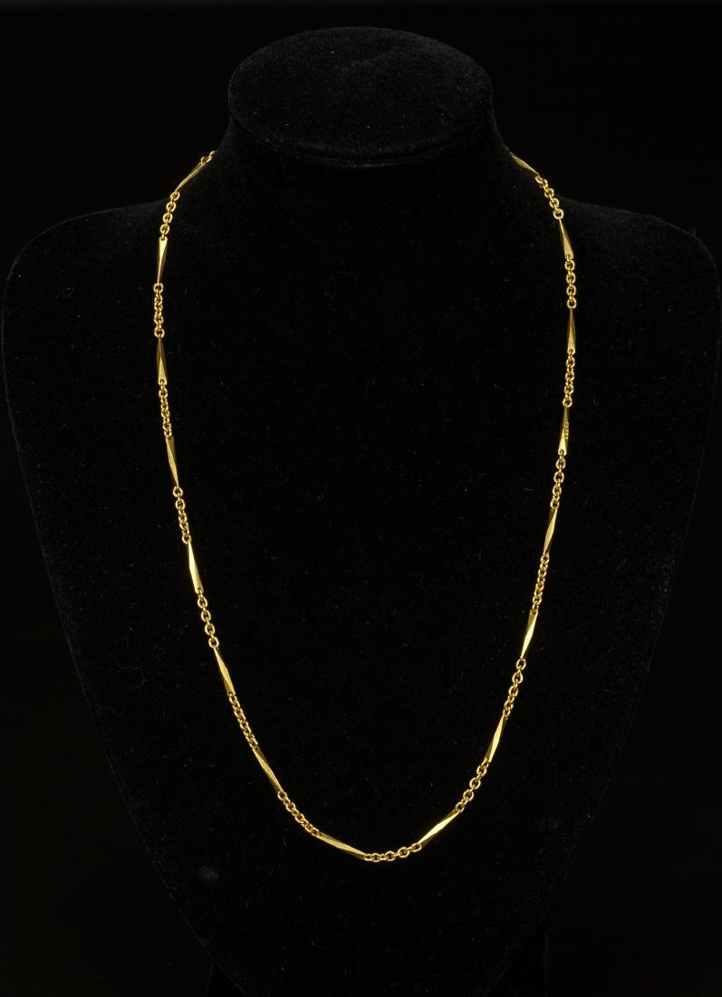 A 22k Gold Necklace