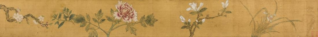 Anonymous- Flowers HandScroll,