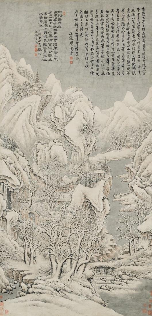 Attributed ToShi Xi(1612-1692) PaintingShi