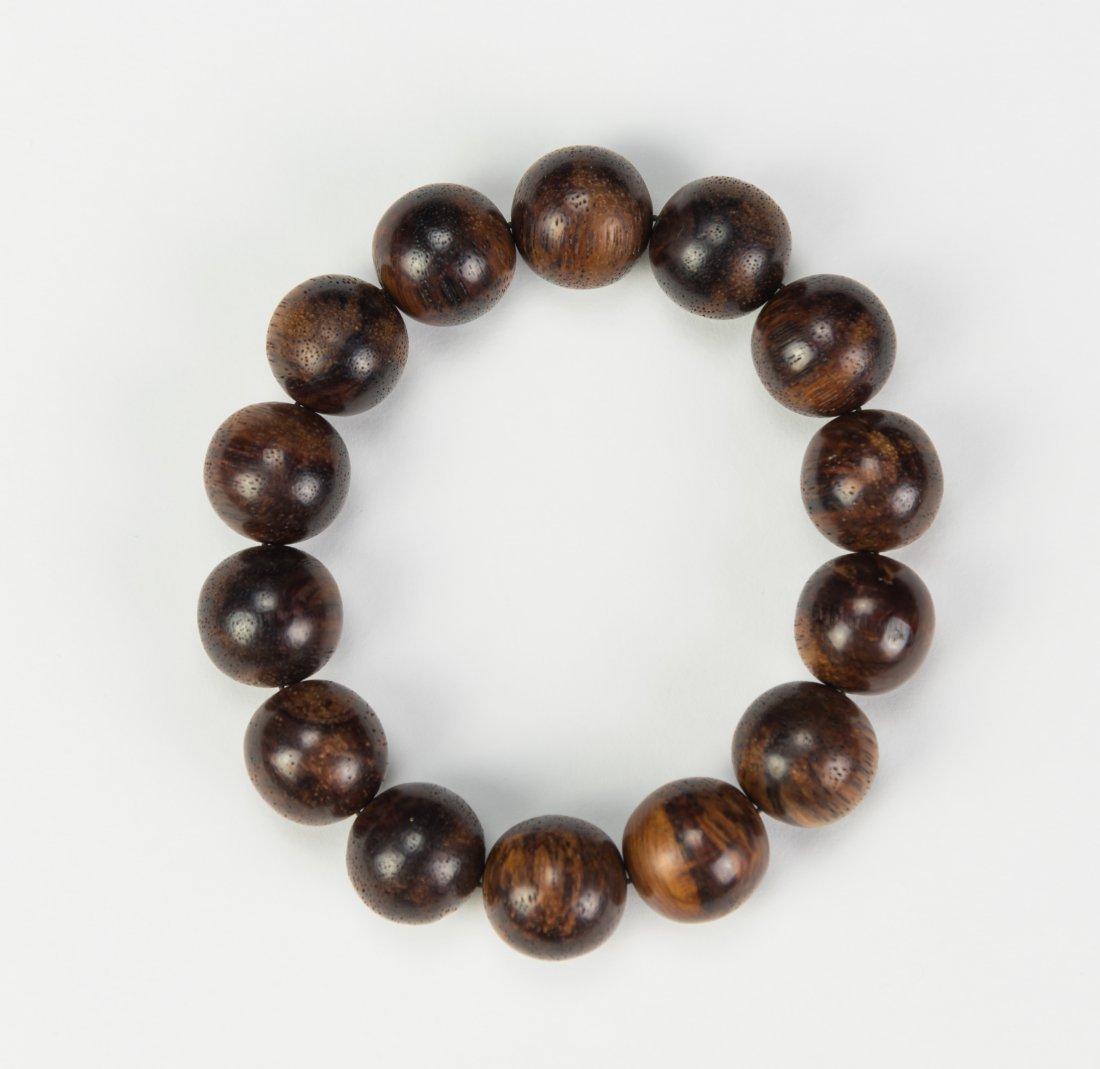 A Huanghuali Beads Hand Bracelets Beads