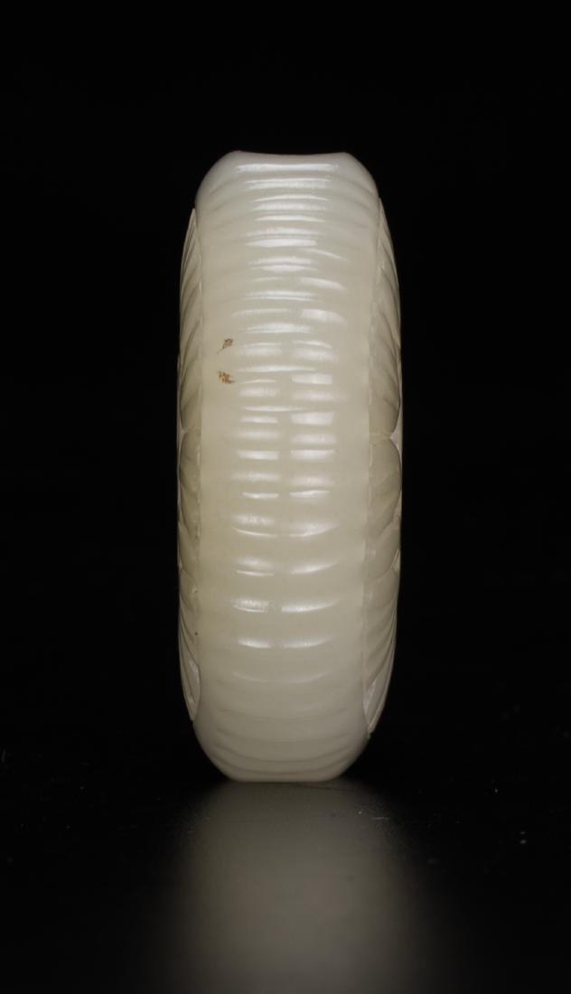 "A White Jade Carved ""Lu,Shou†Sachet - 7"