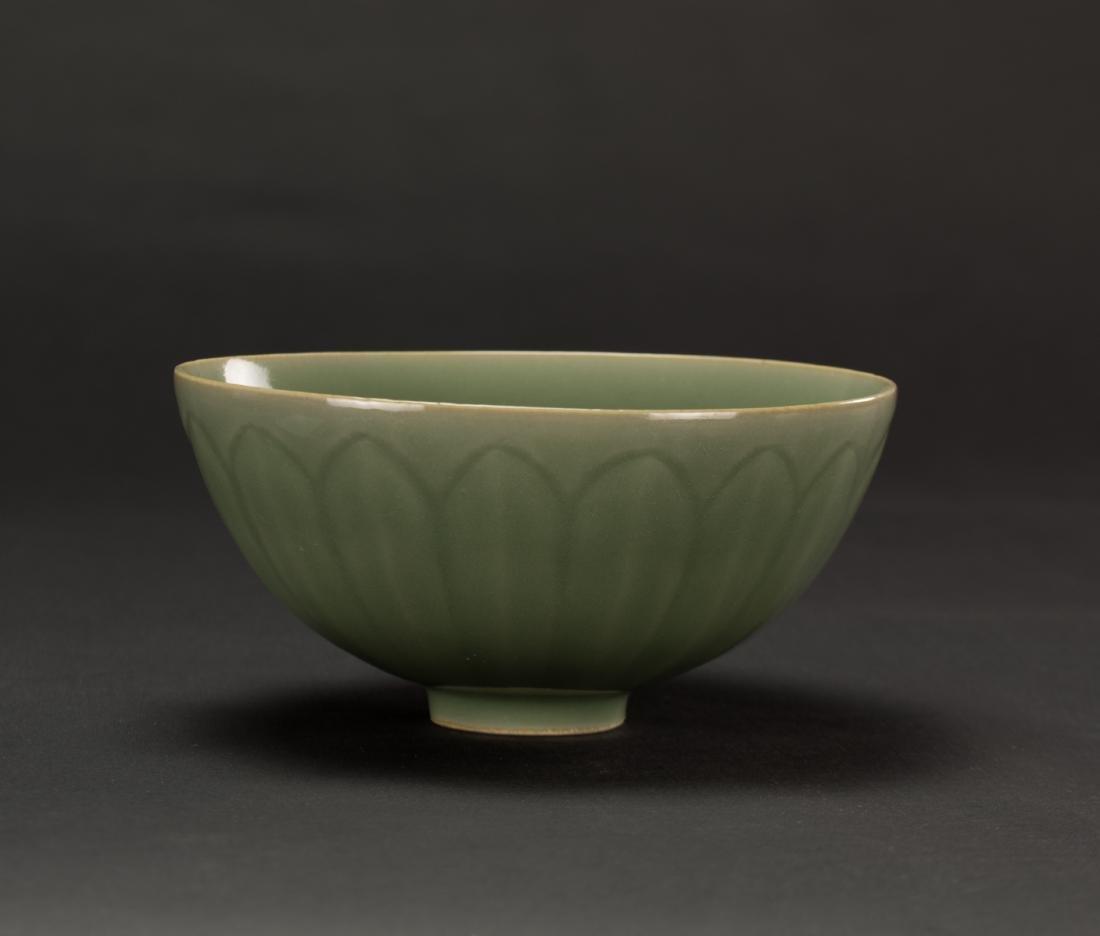 Qing-A Longquan 'Lotus ' Bowl - 2