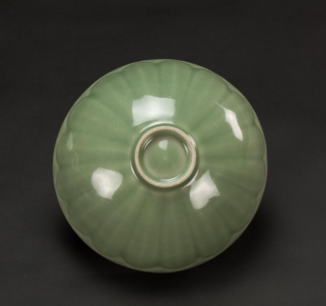 Qing-A Longquan 'Lotus ' Bowl - 6