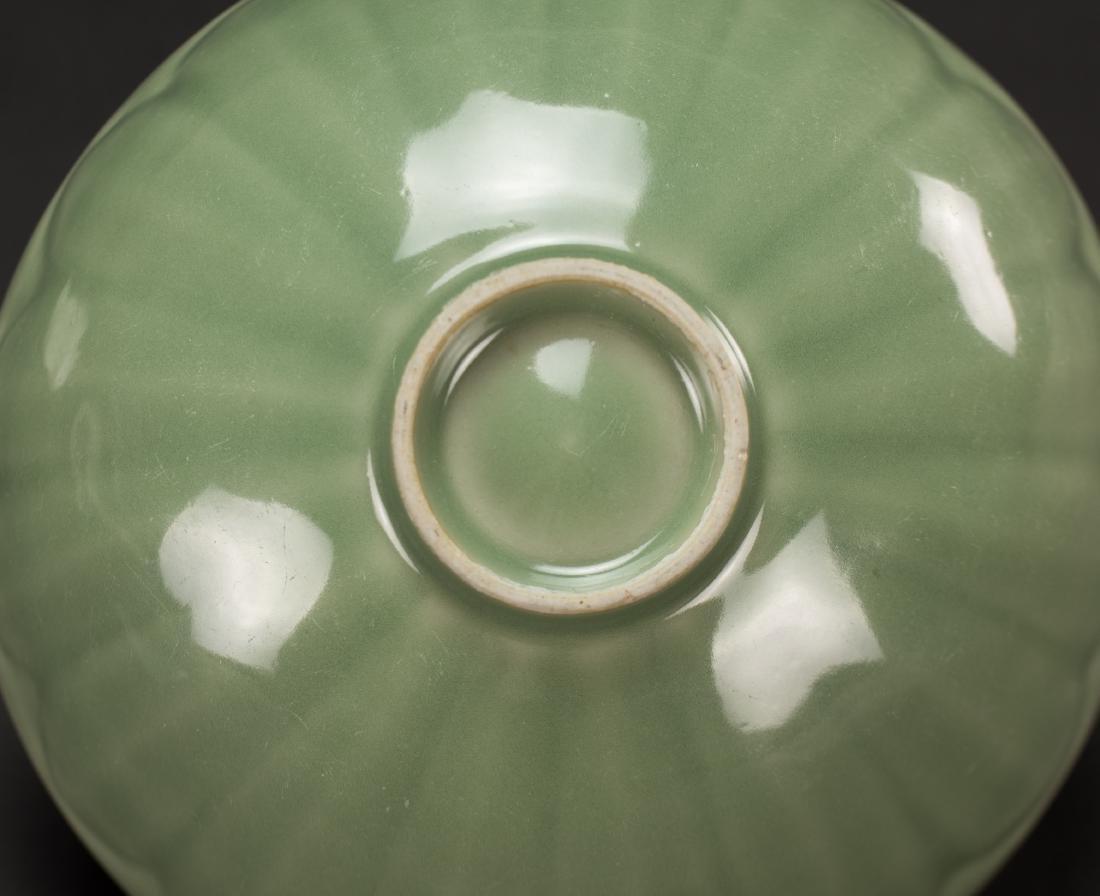 Qing-A Longquan 'Lotus ' Bowl - 7