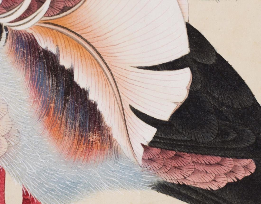 Huang Junbi(1898-1991) Ink And Color On Paper,Mounted, - 5