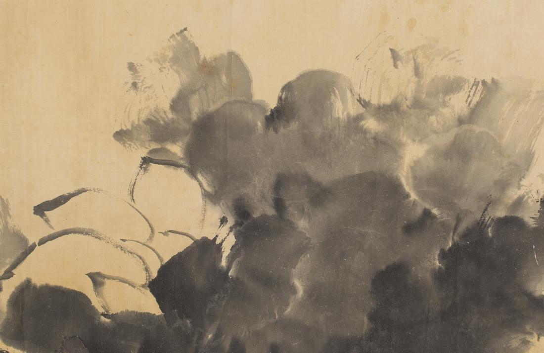 Attributed ToZhu Da(1626-1705) Ink On Paper,Handscroll, - 2