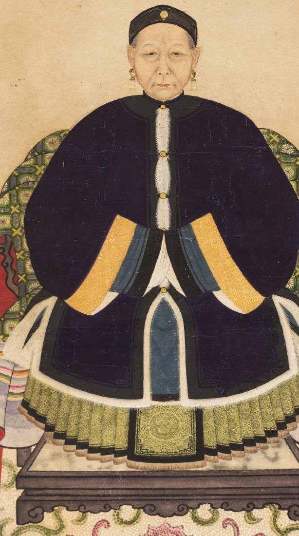 Attributed To Jin Liying(1772-1807) Ink And Color On - 2