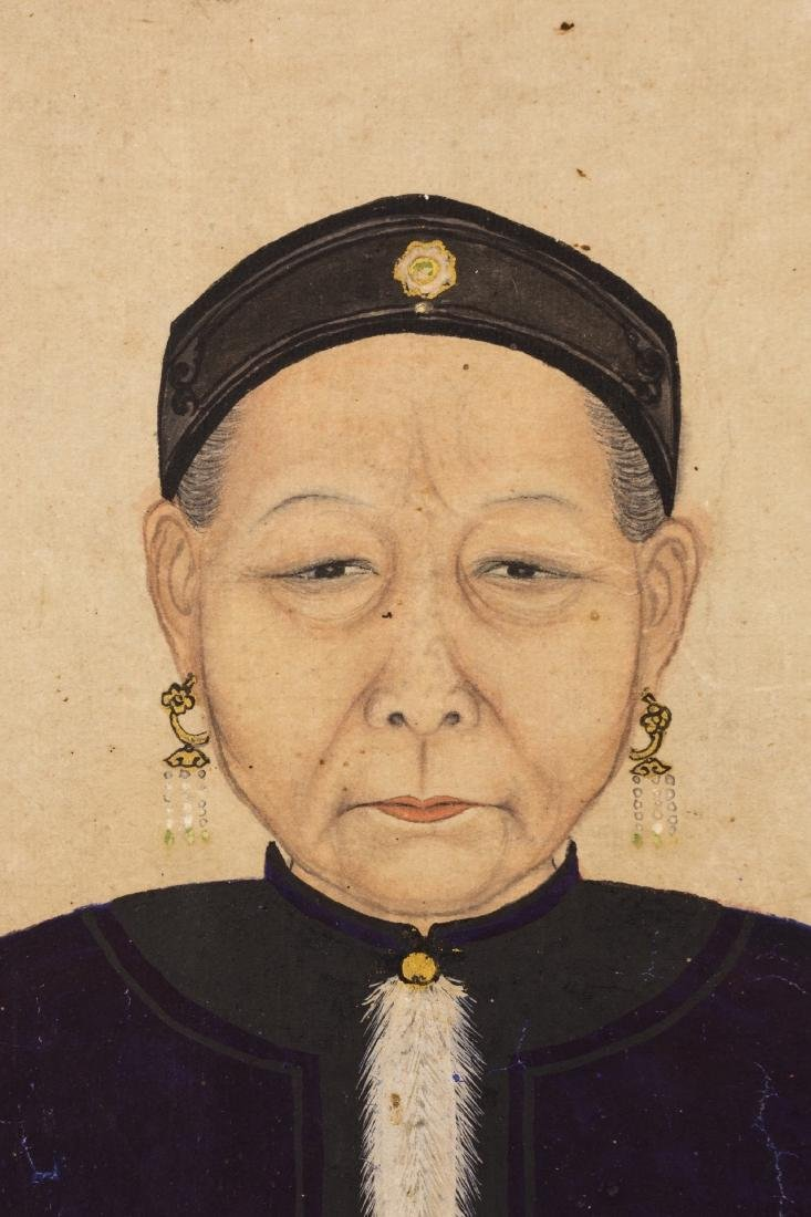 Attributed To Jin Liying(1772-1807) Ink And Color On - 3