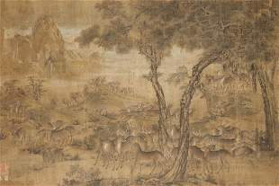 Ming or Earlier-A Hundred Deers