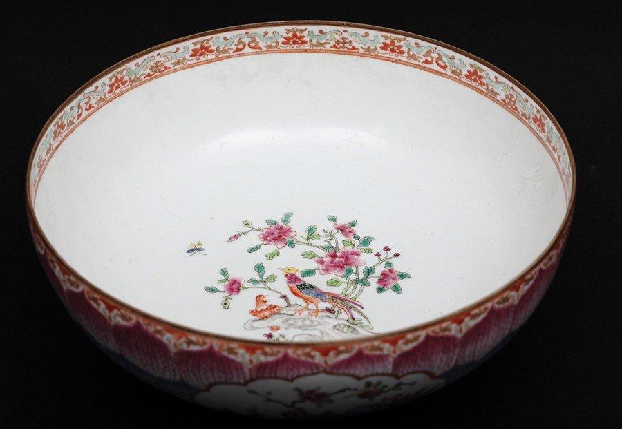 9: 19th Century-A Famille-Rose Large Porcelain Bowl