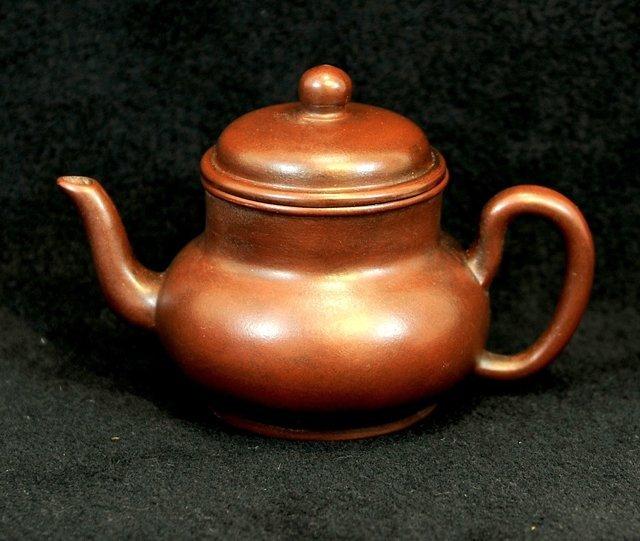 3015:Xu Hantang ,Round shaped Teapot