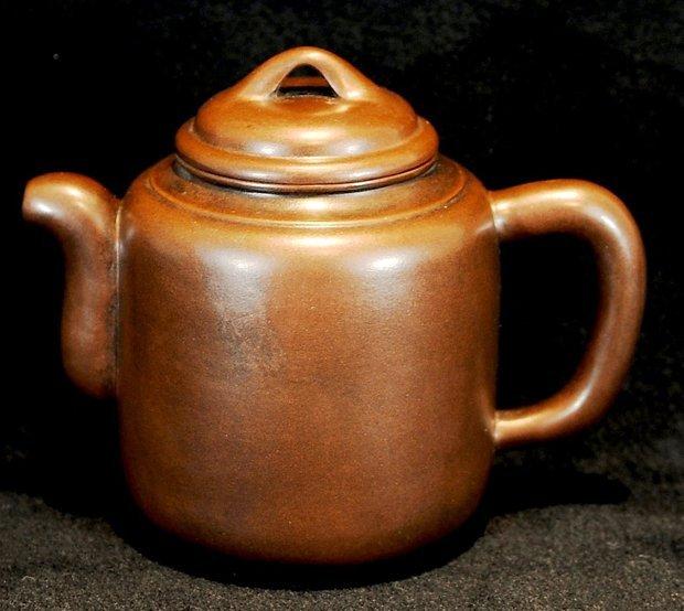 3018:Shi Xiaoma, Round shape Teapot