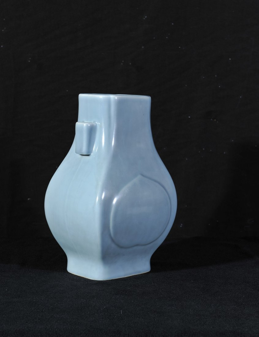 Guangxu and of period-A Guan-Type Double Handled Vase
