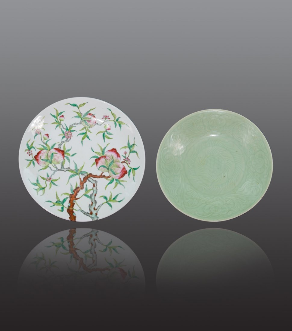 Early 20th century - Group of two large dishes